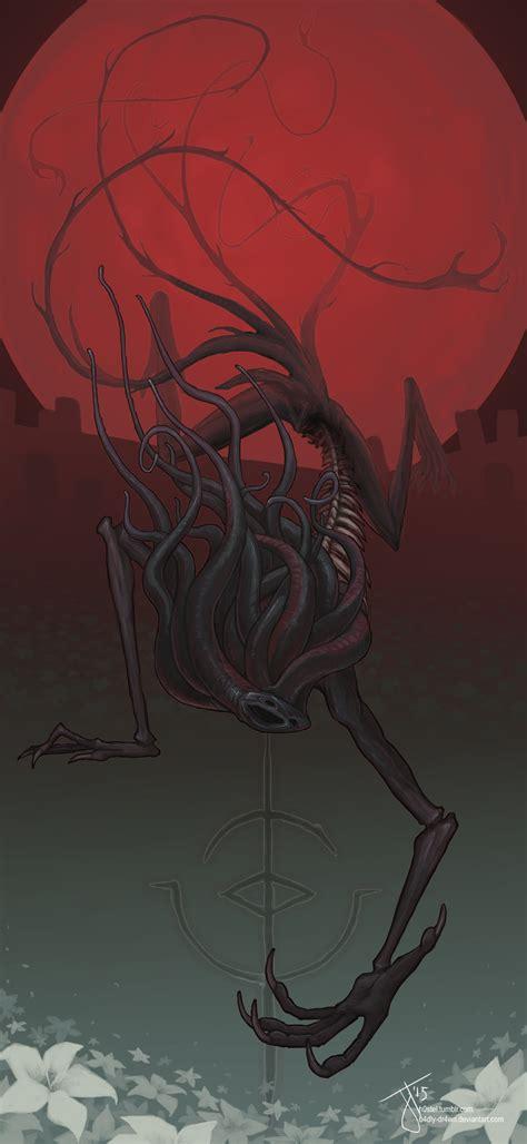 Moon Presence Bloodborne By B4dly Dr4wn On Deviantart