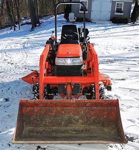 Kubota Bx2230 Tractor With Front End Loader