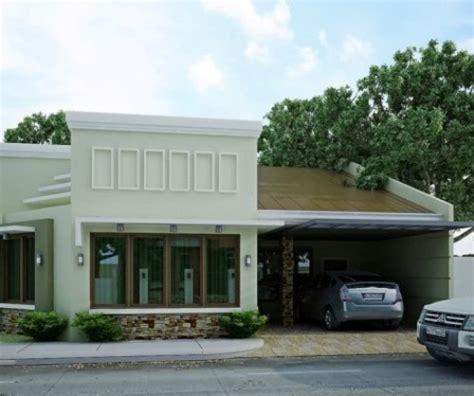 gambar rumah tampak depan elemen batu alam