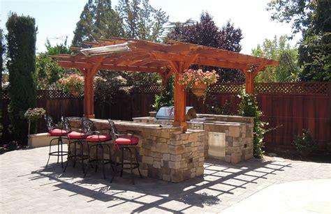 cheap kitchen island cart outdoor kitchen pergola custom redwood kitchen pergola kit