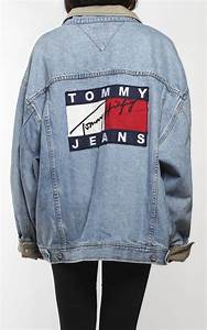 Vintage Tommy Hilfiger Denim Logo Jacket | Tommy Hilfiger | Pinterest | Hilfiger denim Tommy ...