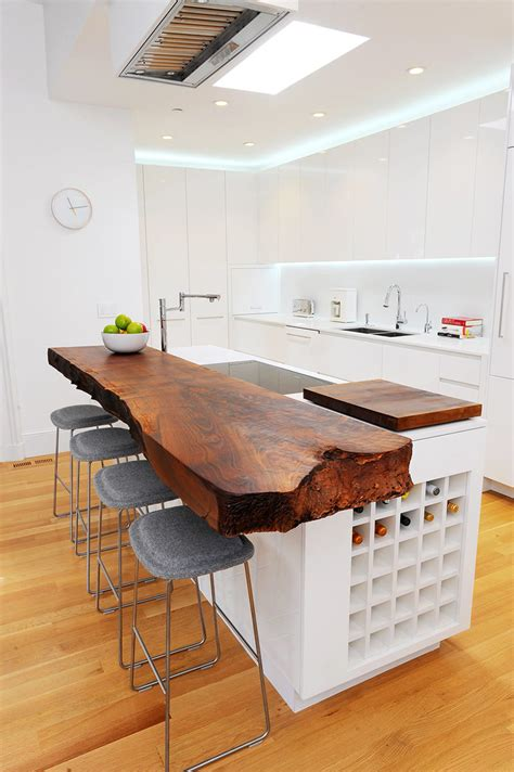 kitchen countertop edging kitchen design idea 5 unconventional materials you can