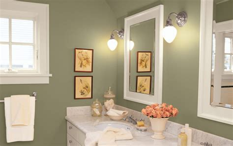 Colors For A Bathroom Wall by Popular Bathroom Paint Colors Walls Home Design Elements