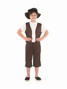 Child Tudor Boy Fancy Dress Costume Pauper Street Urchin ...