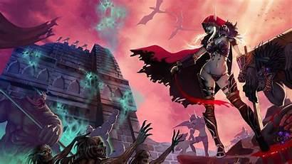 Sylvanas Warcraft Windrunner 4k Wow Wallpapers Games