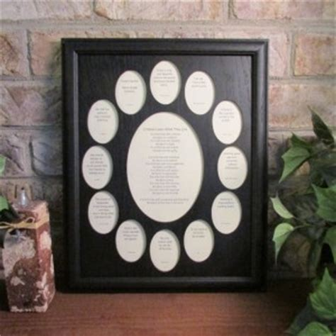 school years frame collage   graduation oval picture