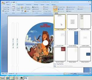 how to make labels for cd dvd disc youtube With how to create cd labels