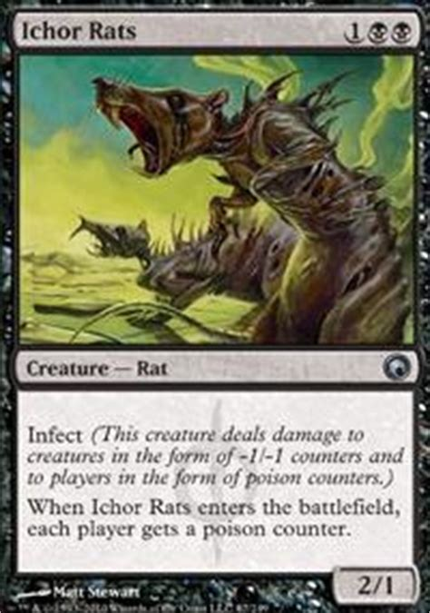 Mtg Infect Deck Tapped Out by Everybody Seems To An Infection These Days