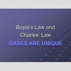 Ppt  Boyle's Law And Charles' Law Powerpoint Presentation Id1956384