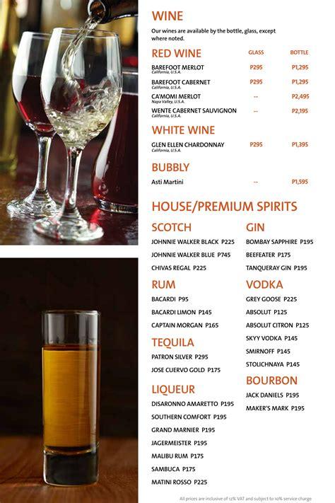 hard rock cafe manila menu clickthecity food drink