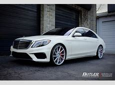 Mercedes SClass with 22in Vossen CVT Wheels exclusively