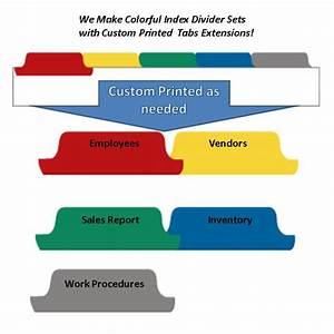 index divider templates - 5 best images of printable index tabs printable index