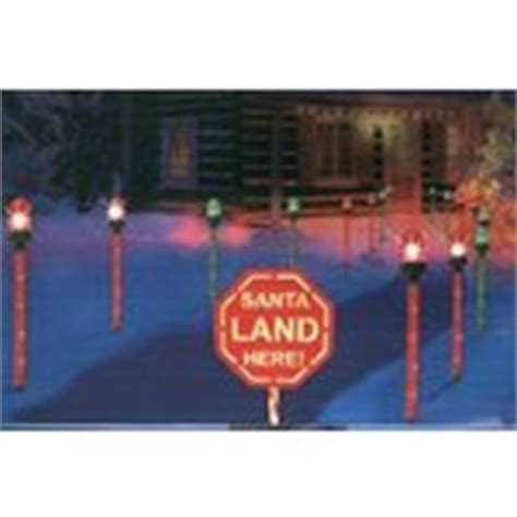 christmas santa runway run way landing lights outdoor 10