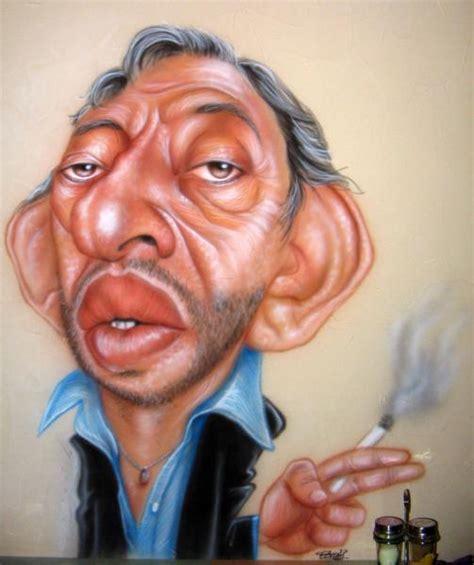 jean gabin serge gainsbourg caricatures