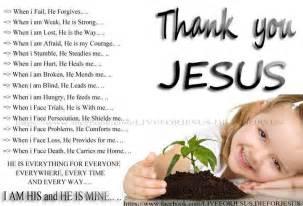 Thank You Jesus Clip Art