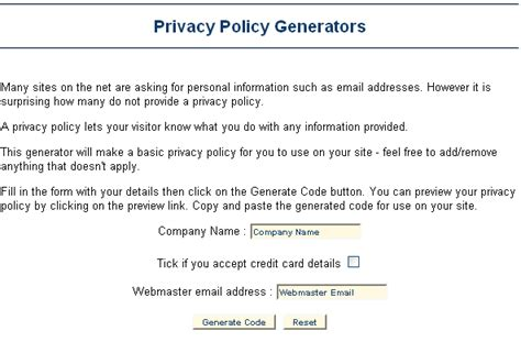 How To Create Privacy Policy & Disclaimer For Your Blog