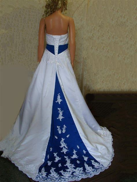 royal blue wedding dresses archives womens style
