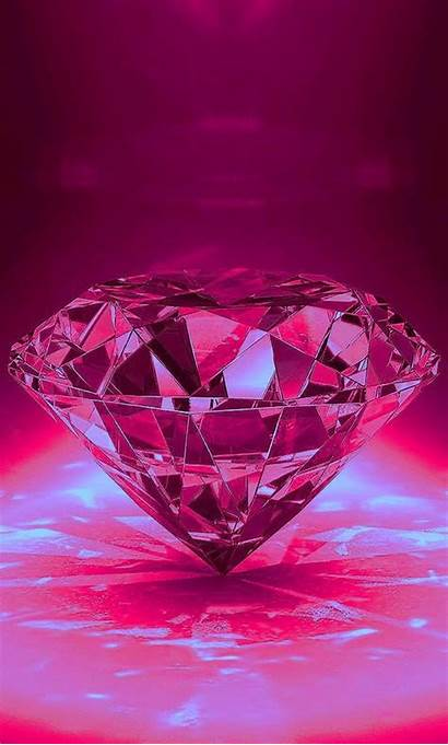 Pink Diamond Wallpapers Backgrounds Iphone Diamonds Phone