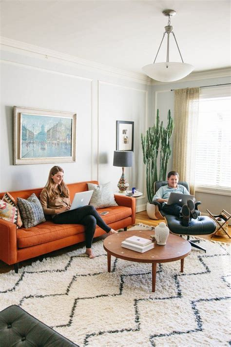Sofas For Apartment Living by House Tour A Colorful Calm And California