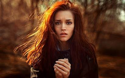 Redhead Wallpapers Woman Chernyadyev Georgy Hair 2283