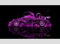 Pagani Zonda R Side Fire Abstract Car 2014 el Tony