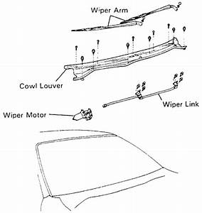 repair guides windshield wipers windshield wiper With tundra wiper motor replacement motor repalcement parts and diagram