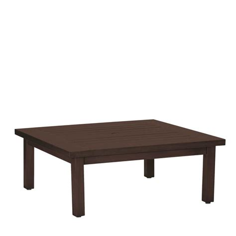 club aluminum square coffee table with patio umbrella