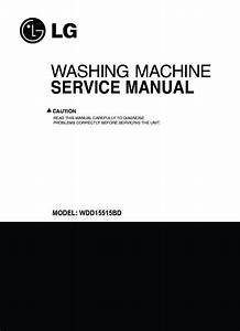 Lg Wdd16515bd Service Manual  U2014 View Online Or Download