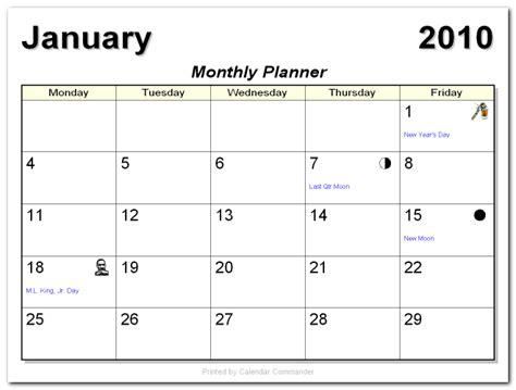 briggs softworks calendar commander sample calendars