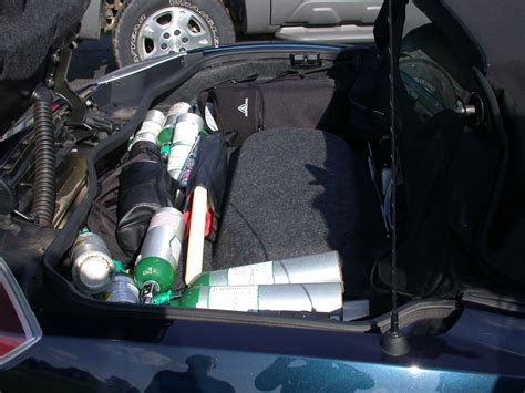 Trunk Space by Using Springs For Opening The Trunk Pontiac Solstice Forum