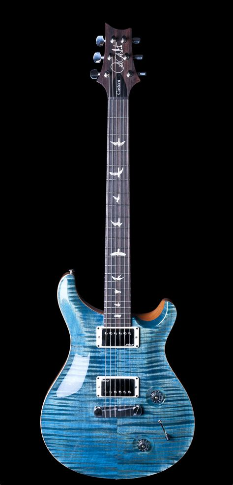 Paul Reed Smith Custom 22 Electric Guitar 10 Top In Aqua