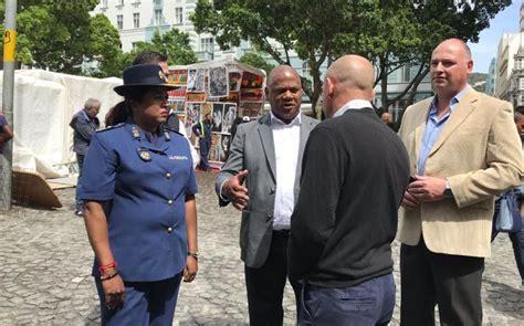 CT Mayor Dan Plato on walkabout in CBD to address crime ...