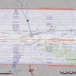 Solar Eclipse Path 2017 Wyoming Map