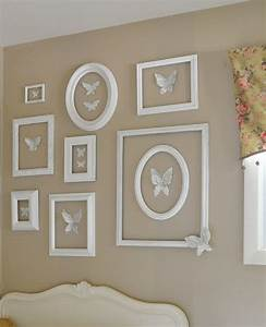 Decorate walls with empty frames diy ideas tip junkie