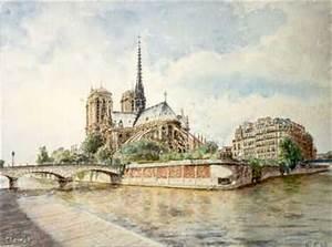 Peinture De Paris Poissy : georges jamet peinture de paris notre dame ~ Premium-room.com Idées de Décoration