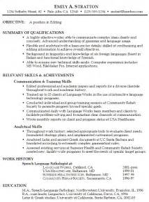 exle of a functional resume sle functional resume exle editing