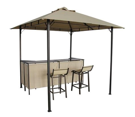 Gazebo Bar New Design Bbq Gazebo With Bar Stools And Bar Table Patio