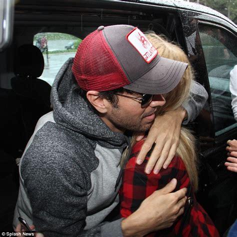 Enrique Iglesias Cuts A Casual Figure As He Greets Adoring
