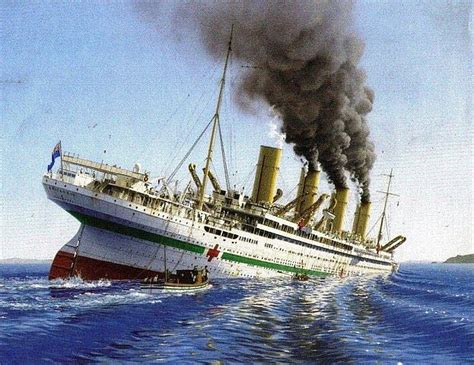The Sinking Of The Britannic Minecraft by Britannic Sinking Minecraft Project