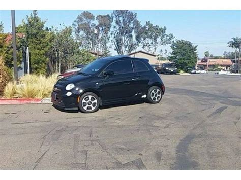Fiat 500 San Diego by Selling Fiat 500e Electric San Diego Electric Cars For