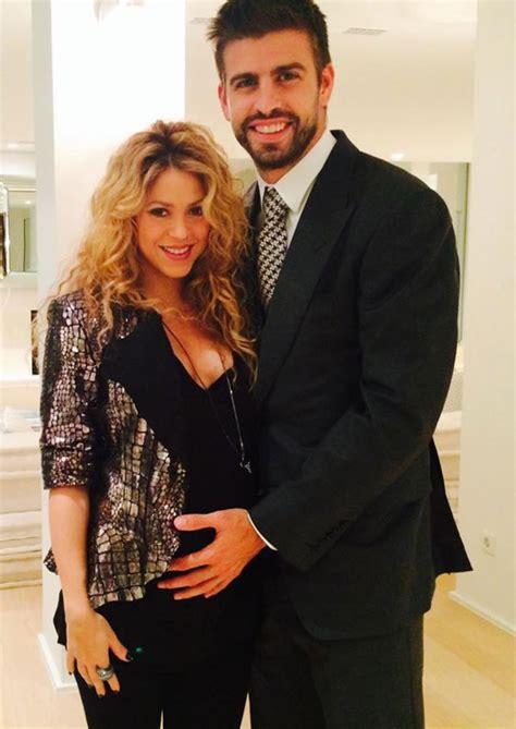 Shakira y Piqué ya no esconden su felicidad por su segunda ...