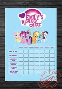 My Little Pony Sticker Reward Chart