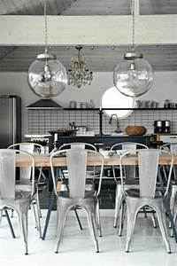 Casetta bianca decor inspiration oversized pendant lights