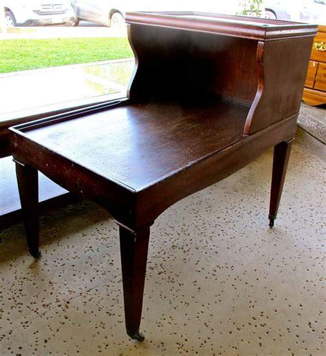 end tables vintage rummage refurbishing repurposing ideas homejelly 3570