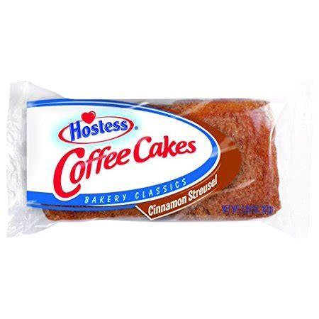 Hostess cinnamon streusel coffee cakes: Hostess Bakery Classics Cinnamon Streusel Coffee Cakes, 2 ...