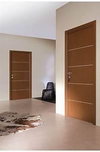 Porte Interieur Pas Cher : portes d 39 interieur seymour finition wenge porte design et ~ Nature-et-papiers.com Idées de Décoration