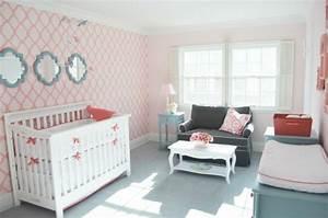 40 idees pour la decoration magnifique en couleur corail With chambre bébé design avec livraison de fleurs le jour meme