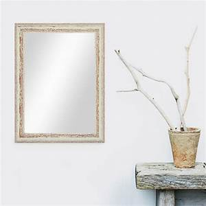 Spiegel Weiß Holzrahmen : wand spiegel 36x46 cm im holzrahmen weiss shabby chic vintage spiegelfl che 30x40 cm spiegel ~ Indierocktalk.com Haus und Dekorationen