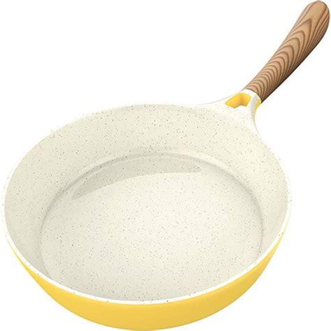 amazoncom vremi ceramic nonstick frying pan large