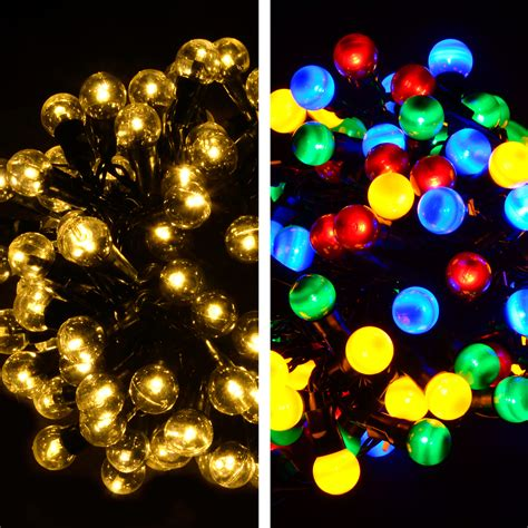 100 multi function berry led lights christmas xmas outdoor